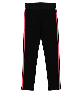Moncler Enfant - Stretch-cotton leggings - mytheresa.com