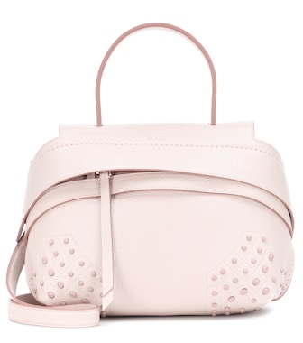 Tod's - Wave Mini leather shoulder bag - mytheresa.com