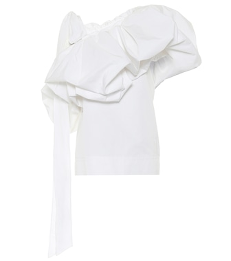 Valentino / Garavani - Valentino cotton-blend top - mytheresa.com