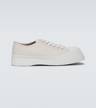 Marni - Canvas sneakers with thick soles - mytheresa.com