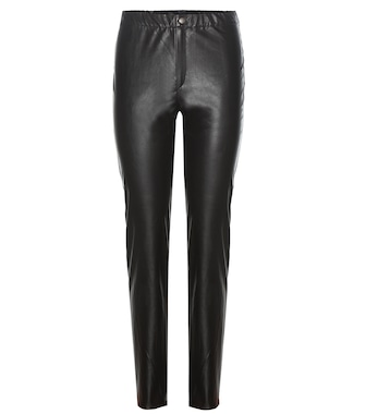 Isabel Marant, Étoile - Jeffery faux leather trousers - mytheresa.com