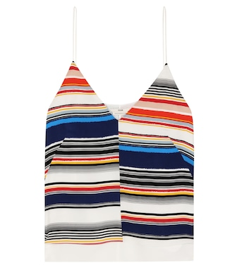 Edun - Striped silk camisole - mytheresa.com