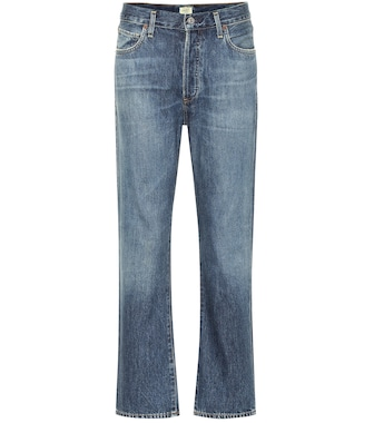 Citizens of Humanity - McKenzie high-rise straight jeans - mytheresa.com