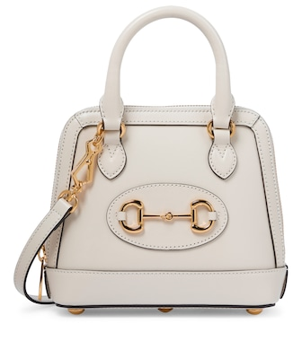 Gucci - Horsebit 1955 Mini leather tote - mytheresa.com