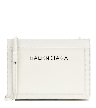 Balenciaga - Leather shoulder bag - mytheresa.com
