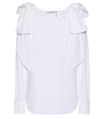Chloé - Cotton top - mytheresa.com