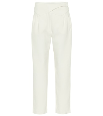 Blazé Milano - Basque high-rise wool straight pants - mytheresa.com
