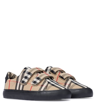 Burberry Kids - Zapatillas Vintage Check de lona - mytheresa.com