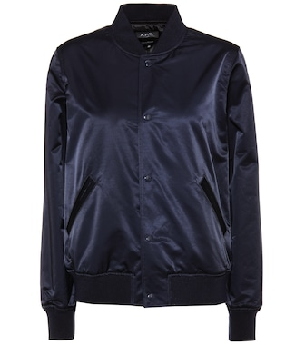 A.P.C. - Cotton-blend bomber jacket - mytheresa.com