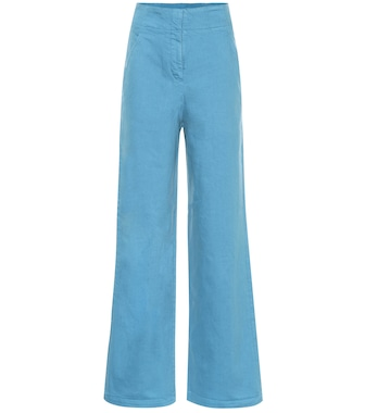 Tibi - High-rise wide-leg jeans - mytheresa.com