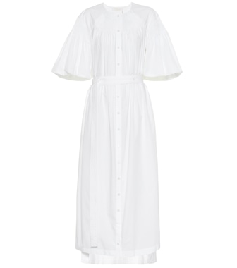 Chloé - Cotton midi dress - mytheresa.com