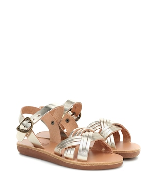 Ancient Greek Sandals Kids - Little Electra leather sandals - mytheresa.com