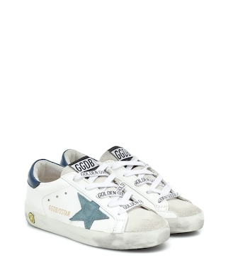 Golden Goose Kids - Superstar leather sneakers - mytheresa.com