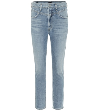 Citizens of Humanity - Mia high-rise slim jeans - mytheresa.com