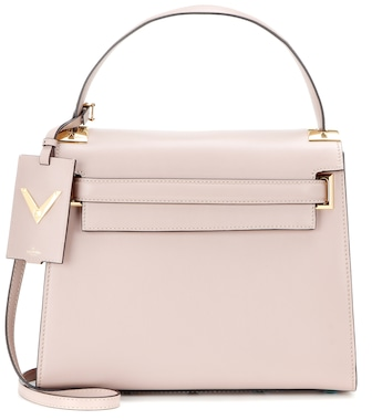 Valentino - Valentino Garavani My Rockstud leather shoulder bag - mytheresa.com