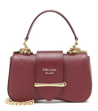 Prada - Sidonie Small leather shoulder bag - mytheresa.com