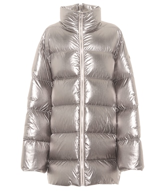 Rick Owens - x Moncler Cyclopic quilted down coat - mytheresa.com