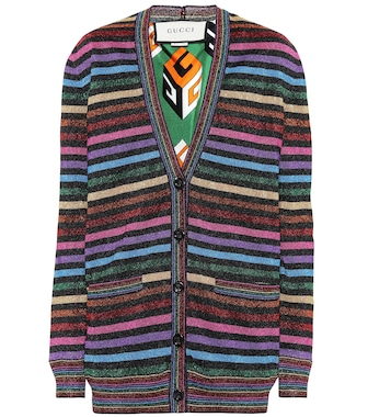 Gucci - Striped cardigan - mytheresa.com