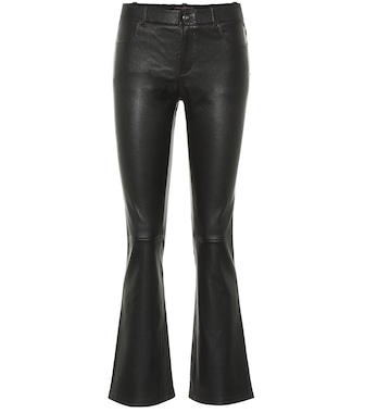Stouls - Dean mid-rise cropped leather pants - mytheresa.com