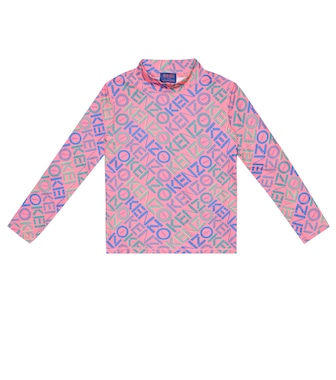 Kenzo Kids - Printed stretch-jersey top - mytheresa.com