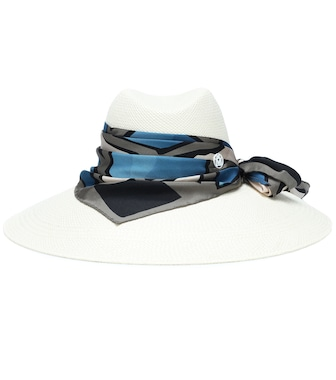 Maison Michel - Cappello Big Kate in paglia - mytheresa.com