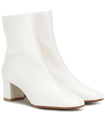 By Far - Sofia leather ankle boots - mytheresa.com