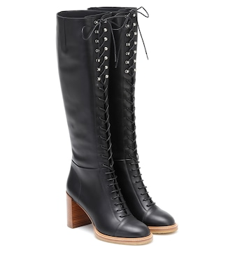 Gabriela Hearst - Pat 75 knee-high boots - mytheresa.com