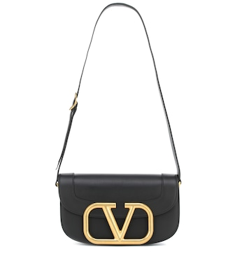 Valentino / Garavani - Valentino Garavani Supervee leather shoulder bag - mytheresa.com