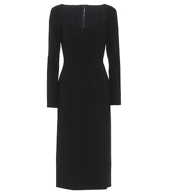 Dolce & Gabbana - Stretch-jersey midi dress - mytheresa.com