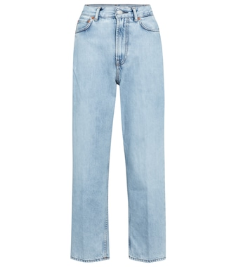 Acne Studios - High-rise straight jeans - mytheresa.com