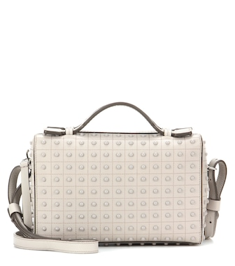 Tod's - Pebbled leather clutch - mytheresa.com