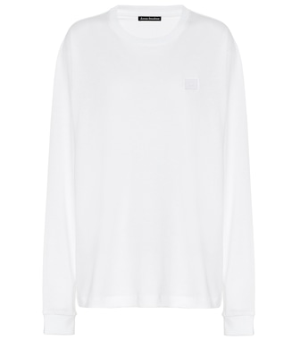 Acne Studios - Fairview Face cotton sweatshirt - mytheresa.com