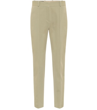Loro Piana - Winter Derk Aster stretch-cotton pants - mytheresa.com
