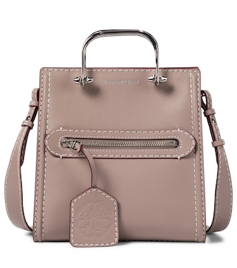 Alexander McQueen - The Short Story leather tote - mytheresa.com