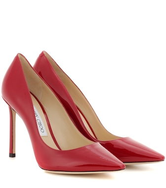 Jimmy Choo - Romy 100 patent leather pumps - mytheresa.com