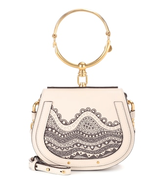 Chloé - Exclusive to Mytheresa.com – Small Nile leather crossbody bag - mytheresa.com