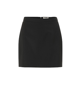 Saint Laurent - Minirock aus Wolle - mytheresa.com