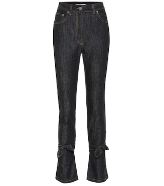 JW Anderson - High-rise slim fit jeans - mytheresa.com