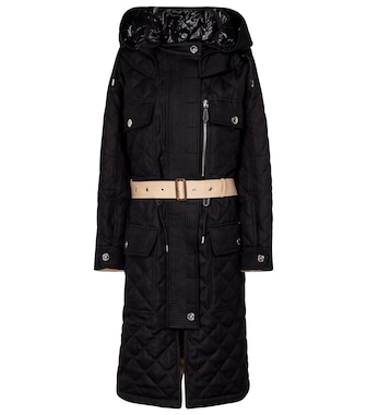Burberry - Exclusive to Mytheresa – Bleasdale diamond-quilted parka - mytheresa.com