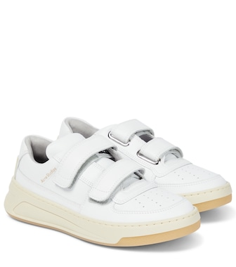 Acne Studios - Steffey leather sneakers - mytheresa.com