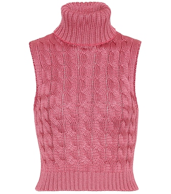 Matthew Adams Dolan - Cable-knit sweater vest - mytheresa.com