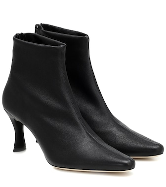 By Far - Bottines Stevie 22 en cuir - mytheresa.com