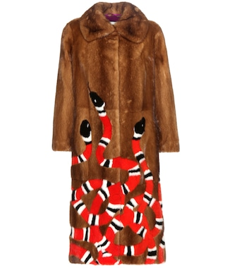 Gucci - Fur coat - mytheresa.com