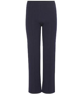 The Row - Destiny virgin wool-blend trousers - mytheresa.com