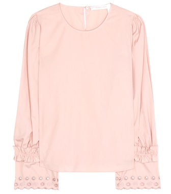 See By Chloé - Cotton blouse - mytheresa.com