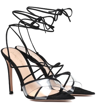 Gianvito Rossi - Suede sandals - mytheresa.com