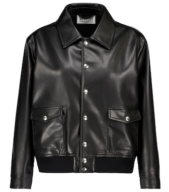 Maison Margiela - Faux leather jacket - mytheresa.com