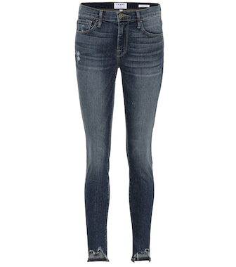 Frame - Jeanne Front Chew skinny jeans - mytheresa.com