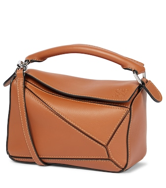 Loewe - Puzzle Mini leather shoulder bag - mytheresa.com