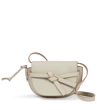 Loewe - Gate Mini leather crossbody bag - mytheresa.com
